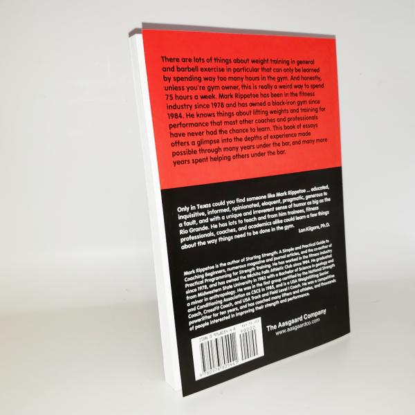 strong enough book back cover photograph