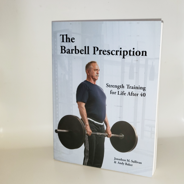 barbell prescription front cover photograph