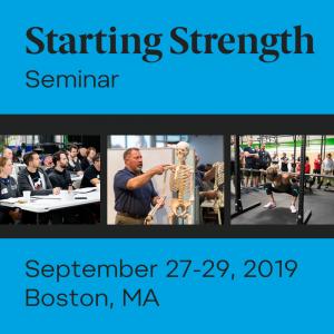 training starting strength seminar boston