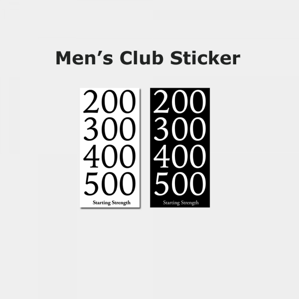 club sticker men