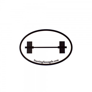 lifters window sticker 405 barbell