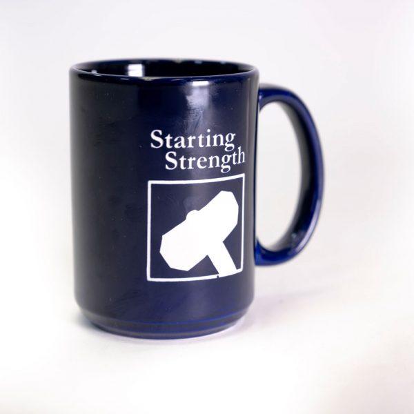 aasgaard engraved blue mug
