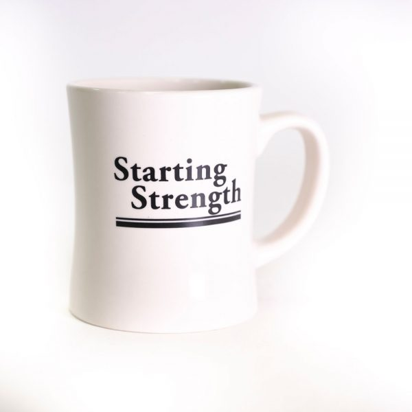 gear starting strength mug front