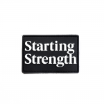 starting strength wordmark patch