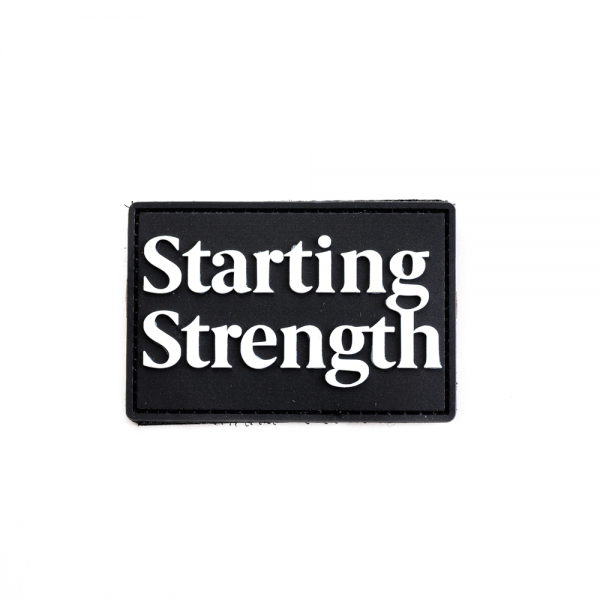 starting strength wordmark patch