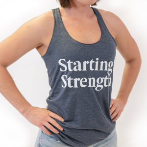 starting strength tank top for women