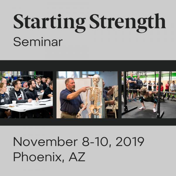 training starting strength seminar arizona