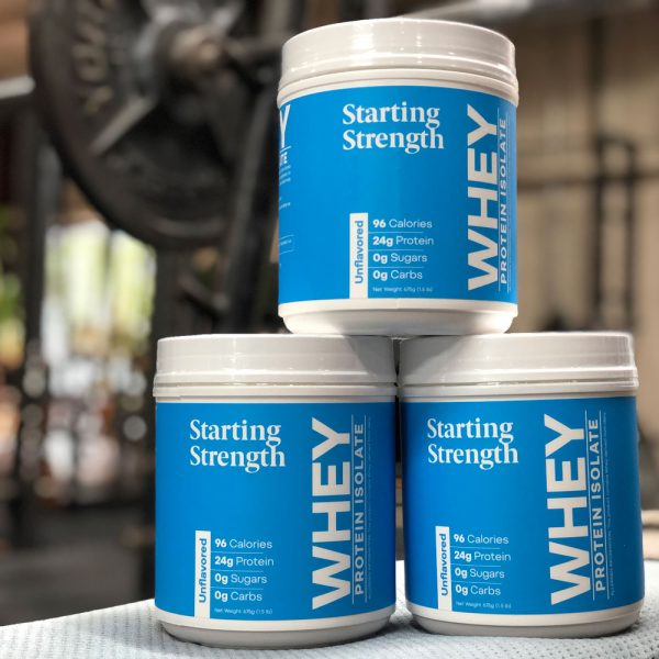 starting strength whey protein