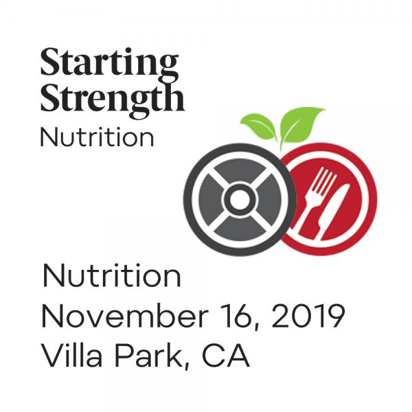 training nutrition villa park california