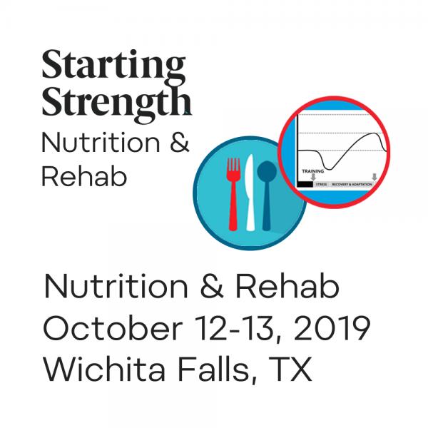 training nutrition rehab wfac texas
