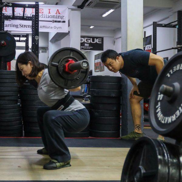 coaching the squat