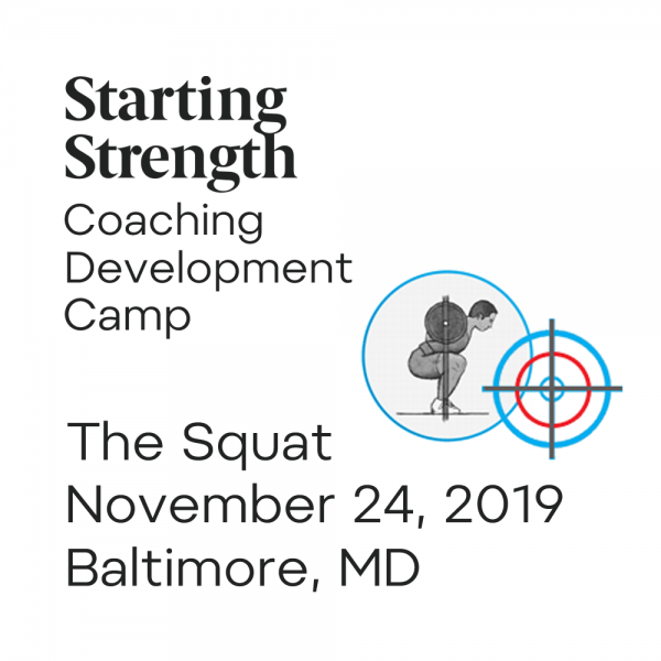 training squat coaching development camp baltimore maryland