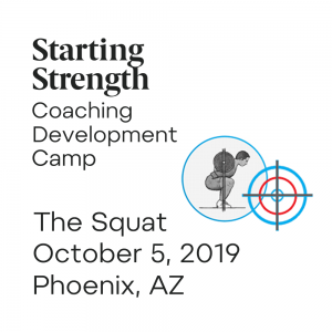 training squat coaching development camp phoenix arizone