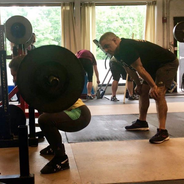 starting strength training camp squat pete troupos