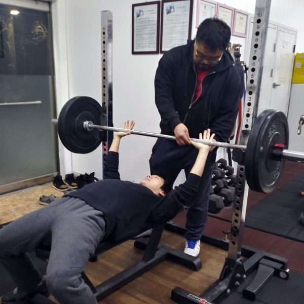 training starting strength bench press kyoungha kim