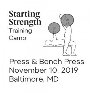 starting strength training camp pressing baltimore