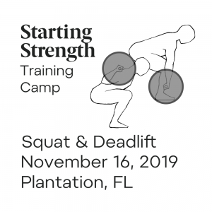 starting strength squat deadlift training camp florida