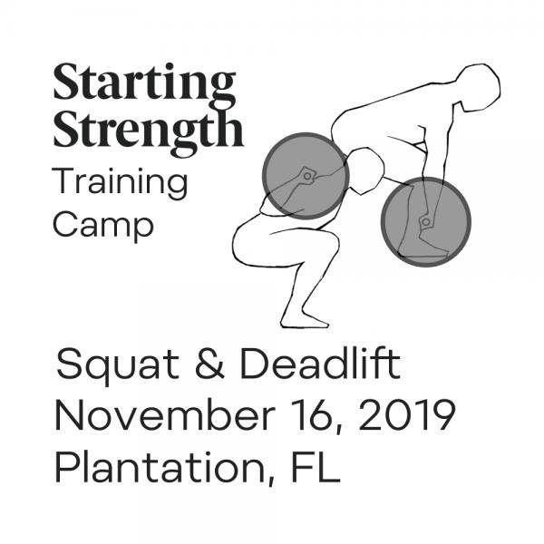 starting strength squat deadlift training camp florida