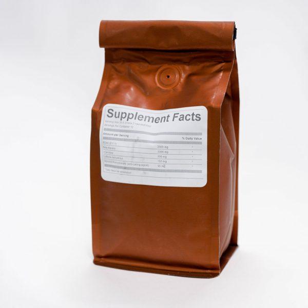 gear preworkout ironjoe ground coffee back
