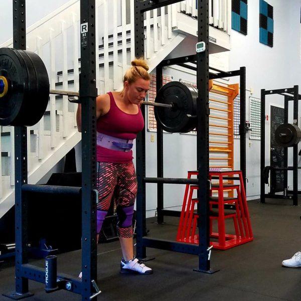 training camp squat annino