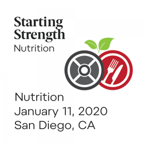 training nutrition camp san diego california