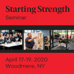 starting strength seminar woodmere new york april 2020