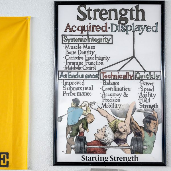 poster strength attributes wfac gym