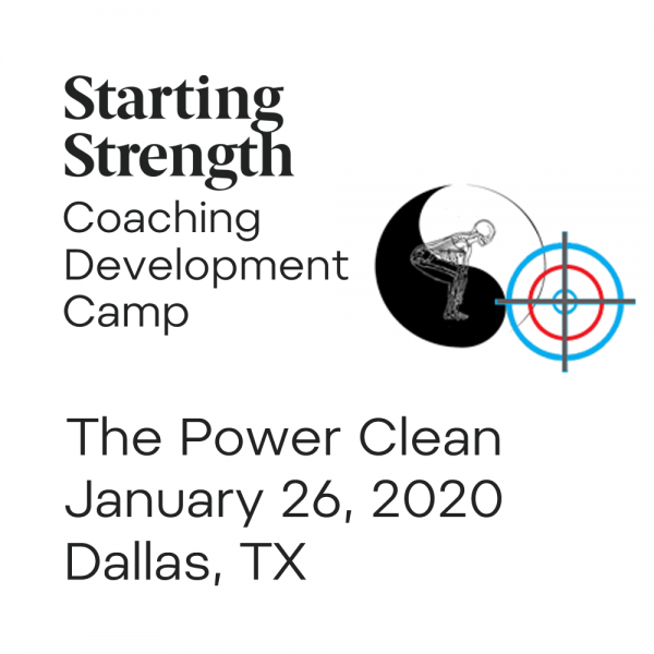 power clean coaching development camp dallas
