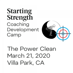 power clean coaching development camp villa park california