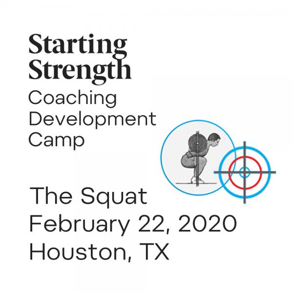 squat coaching development camp houston texas