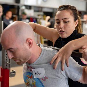 training camp squat rack position skinner