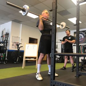 starting strength training camp press portland