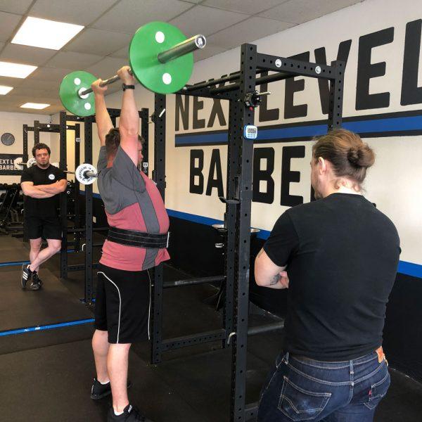 starting strength training camp press portland