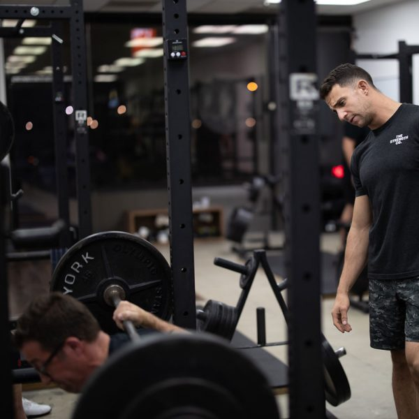 minigell coaching the squat