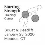training camp squat deadlift moodus january