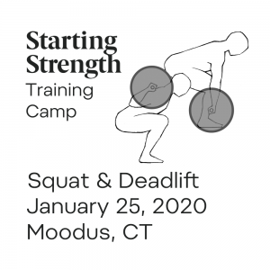 training camp squat deadlift moodus january