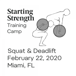 training squat deadlift camp miami