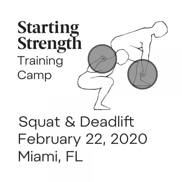 training squat deadlift camp miami