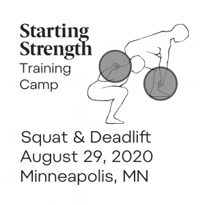 starting strength training camp squat deadlift