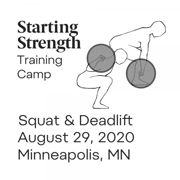starting strength training camp squat deadlift
