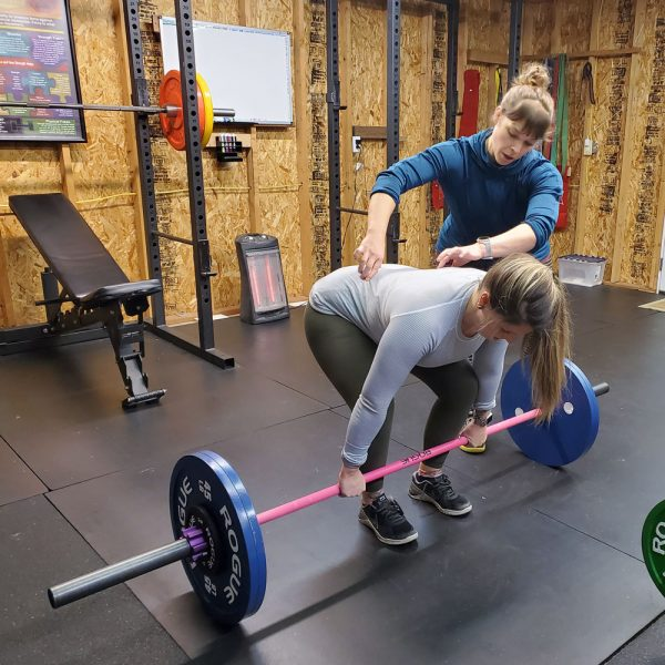 anna marie oakes-joudy deadlift coaching