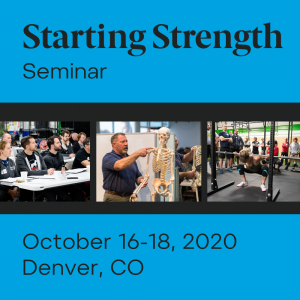 starting strength seminar denver