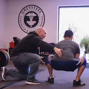 squat teaching method hip drive kurisko