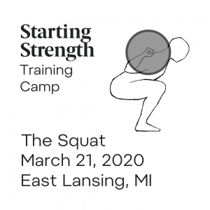 starting strength squat camp michigan