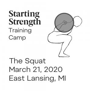 starting strength squat camp michigan