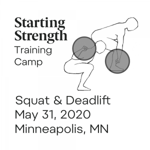 starting strength training camp