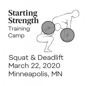 starting strength squat deadlift training camp minnesota