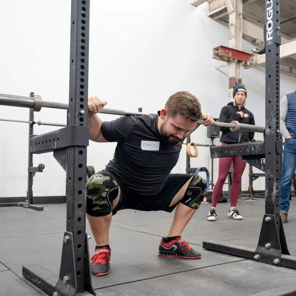 diego teaching the squat