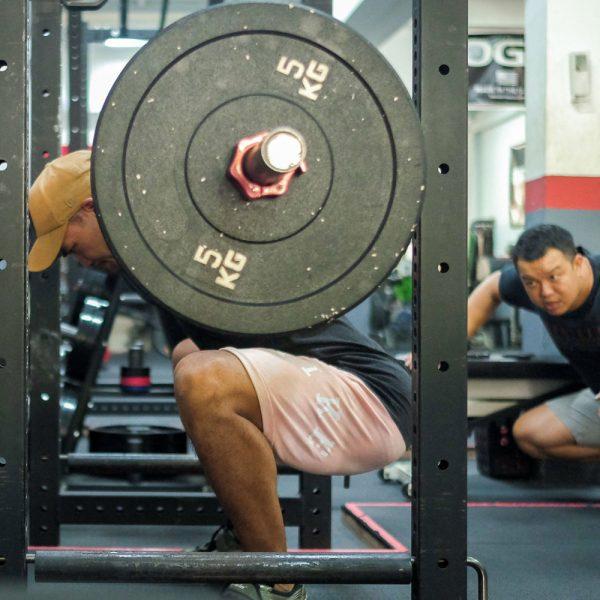 pang coaching the squat