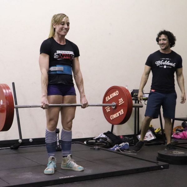 santana coaching the deadlift
